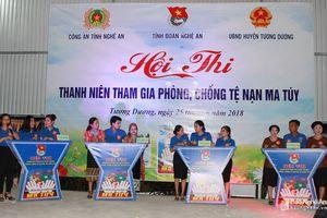 Sôi nổi với Hội thi 'Thanh niên tham gia phòng, chống tệ nạn ma túy'