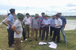 JICA kiểm tra sự cố kỹ thuật dự án thủy lợi ở Đô Lương