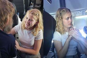 Cô gái này đang được cả thế giới gọi là thiên thần vì hành động không tưởng này trên máy bay