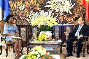 Thủ tướng Nguyễn Xuân Phúc: Ngân hàng Thế giới giải ngân tài trợ rất tốt