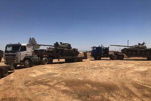 Quân đội Syria thu chiến lợi phẩm 6 xe tăng ở Daraa