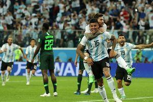Messi ghi bàn đầu tiên ở World Cup 2018, Argentina tiễn Nigeria về nước