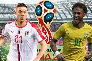 Dự đoán kết quả tỷ số World Cup 2018 giữa đội tuyển Serbia và Brazil