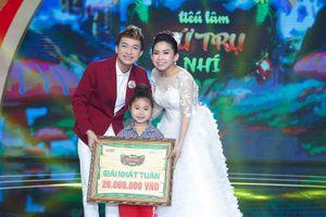 Ốc Thanh Vân rơi nước mắt với tiết mục của cô bé Thanh Tuyền