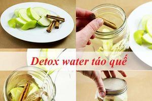 Tự làm 3 loại nước detox giúp da sáng mịn không tì vết