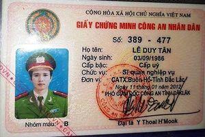 Cầm thẻ ngành vay 300 triệu, một Thượng úy bị đề nghị tước danh hiệu CAND