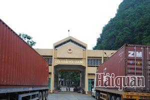 Hàng xuất khẩu bất ngờ tăng mạnh 168% tại cửa khẩu Sóc Giang-Cao Bằng