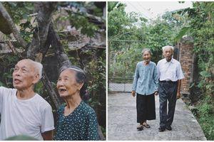 Bộ ảnh lãng mạn của ông bà U90 khiến dân mạng 'lụi tim', ganh tị vì quá tình cảm