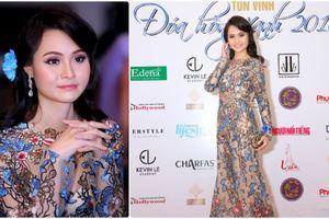 Miss Cộng đồng Thanh Trúc gợi cảm tinh tế tại Gala Đóa Hồng Xanh