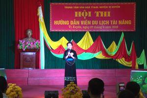 Hà Giang: Vị Xuyên thi Hướng dẫn viên du lịch tài năng