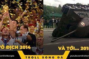 Biếm họa 24h: Đức gục ngã trước 'lời nguyền nhà vô địch World Cup'