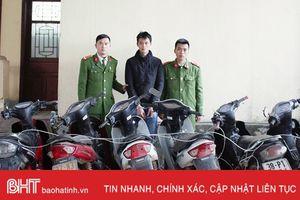 Công an Hương Sơn thu hồi hơn 314 triệu đồng trả người bị hại