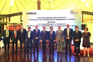 Airbus tài trợ 2,5 triệu USD cho chương trình đào tạo hàng không tại Việt Nam