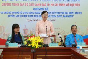 Đại hội XI Công đoàn TP.Hồ Chí Minh: Không đổi mới, công đoàn sẽ đứng ngoài cuộc sống người lao động