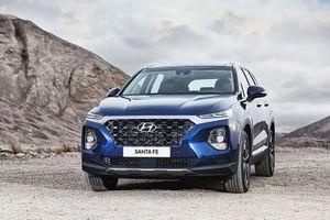 Hyundai SantaFe 2019 chính thức chốt giá chưa đến 600 triệu đồng