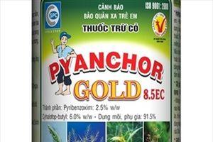 Pyanchor Gold 8.5 EC trừ cỏ cho ruộng lúa