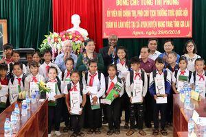Phó Chủ tịch Thường trực Quốc hội Tòng Thị Phóng thăm và làm việc tại Gia Lai