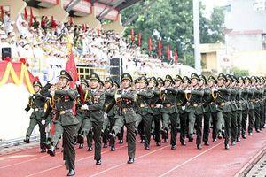Cụm thi đua số 2 BTL Cảnh vệ sơ kết công tác 6 tháng đầu năm