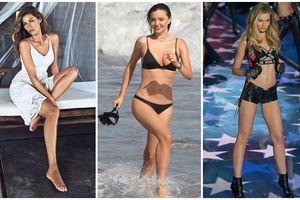 Sở hữu body 0% mỡ thừa, siêu mẫu Miranda Kerr,Gisele Bündchen phải ăn kiêng khổ sở như thế nào?