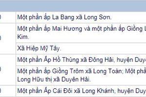 THÔNG BÁO: Lịch cúp điện Trà Vinh từ ngày 11/7/2018 đến ngày 13/7/2018