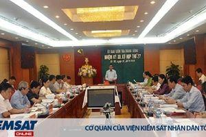 Đề nghị xem xét, thi hành kỷ luật ông Nguyễn Bắc Son và ông Trương Minh Tuấn