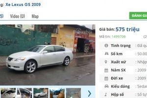 3 chiếc ô tô Lexus cũ số tự động này đang rao bán tầm giá 500 triệu tại Việt Nam