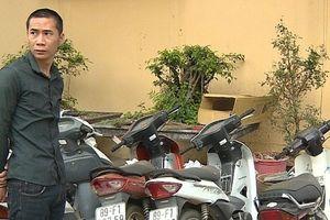 Bắt giữ hai đối tượng gây ra hàng loạt vụ trộm cắp xe máy