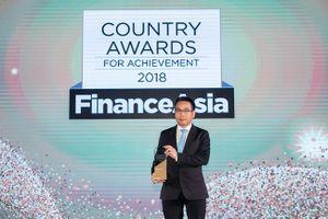 Vietcombank nhận giải thưởng 'Ngân hàng tốt nhất Việt Nam' năm 2018