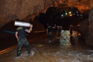 Gian nan hành trình tìm kiếm đội bóng Thái Lan mắc kẹt trong hang động