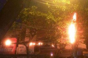Bình Định: Bốt điện phát nổ giữa ngày nắng nóng, nhiều người vào nhà nghỉ trốn nóng