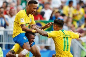 Hàng công thăng hoa, Brazil thắng thuyết phục trước Mexico