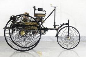 Bất ngờ với ngoại hình của chiếc ô tô đầu tiên trên thế giới