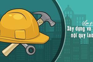Cách xây dựng nội quy lao động