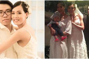 Hành động bất ngờ của Nguyễn Hợp Next Top sau đám cưới hoành tráng gây xúc động