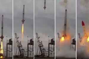 Tên lửa Nhật nổ tung vài giây sau khi phóng
