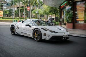 'Hàng độc' Ferrari 458 Speciale của 'đại gia' cafe Việt