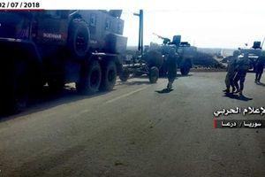 Chiến lợi phẩm SAA thu được sau khi dội lửa Busra