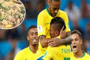 'Thần dược đặc biệt' giúp các ngôi sao ĐT Brazil dẻo dai sung mãn