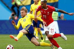 Thụy Điển - Thụy Sĩ 1-0: Dở ít thắng dở nhiều