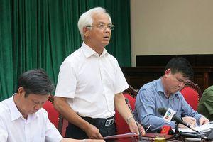 Công an Hà Nội khởi tố 60 vụ án tham nhũng trong năm 2017