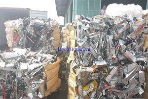 Phạt 30 triệu đồng, buộc tái xuất hơn 30 tấn phế liệu nhựa