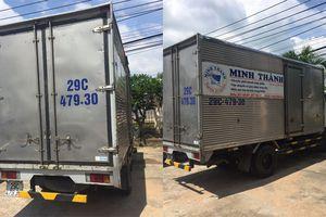 CGST truy đuổi hơn 30km chặn dừng xe tải bị lấy trộm