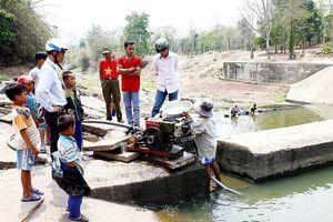 Nỗ lực chống khô hạn ở miền Trung