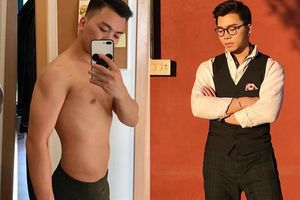 Giảm 6kg chỉ sau 12 ngày detox chàng trai hóa nam thần với body rắn chắc khiến các nàng mê mệt