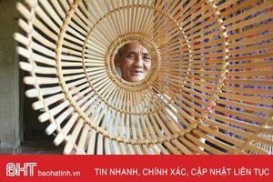 Đan nơm - nghề phụ, niềm vui chính của người dân Yên Mỹ