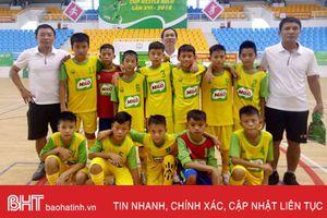 Nhi đồng Hà Tĩnh thắng TP Hồ Chí Minh 3 - 0 trận đầu Cup Milo 2018