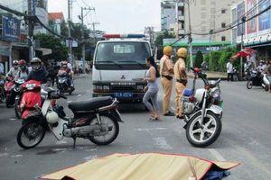Chị ve chai gây tai nạn đáng sợ cho người đi đường
