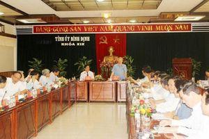 Ban Bí thư rất quan tâm vấn đề tại cảng Quy Nhơn