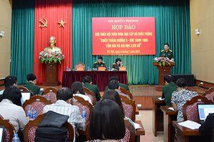 Họp báo giới thiệu Hội thảo 'Chiến thắng Đường 9 - Khe Sanh 1968 - Tầm vóc và bài học lịch sử'