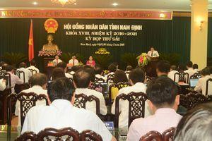 HĐND tỉnh Nam Định họp không giấy tờ